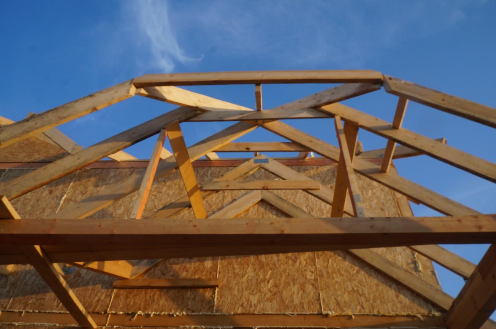 Двухскатная крыша своими руками : как правильно сделать двускатную крышу 13