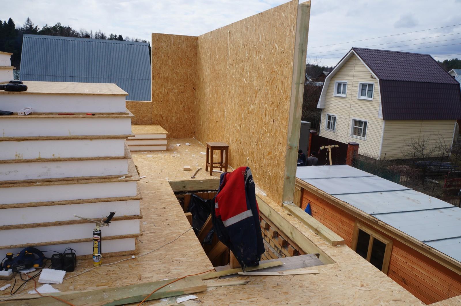 Фотогалерея SIP домов, построенных своими руками 27